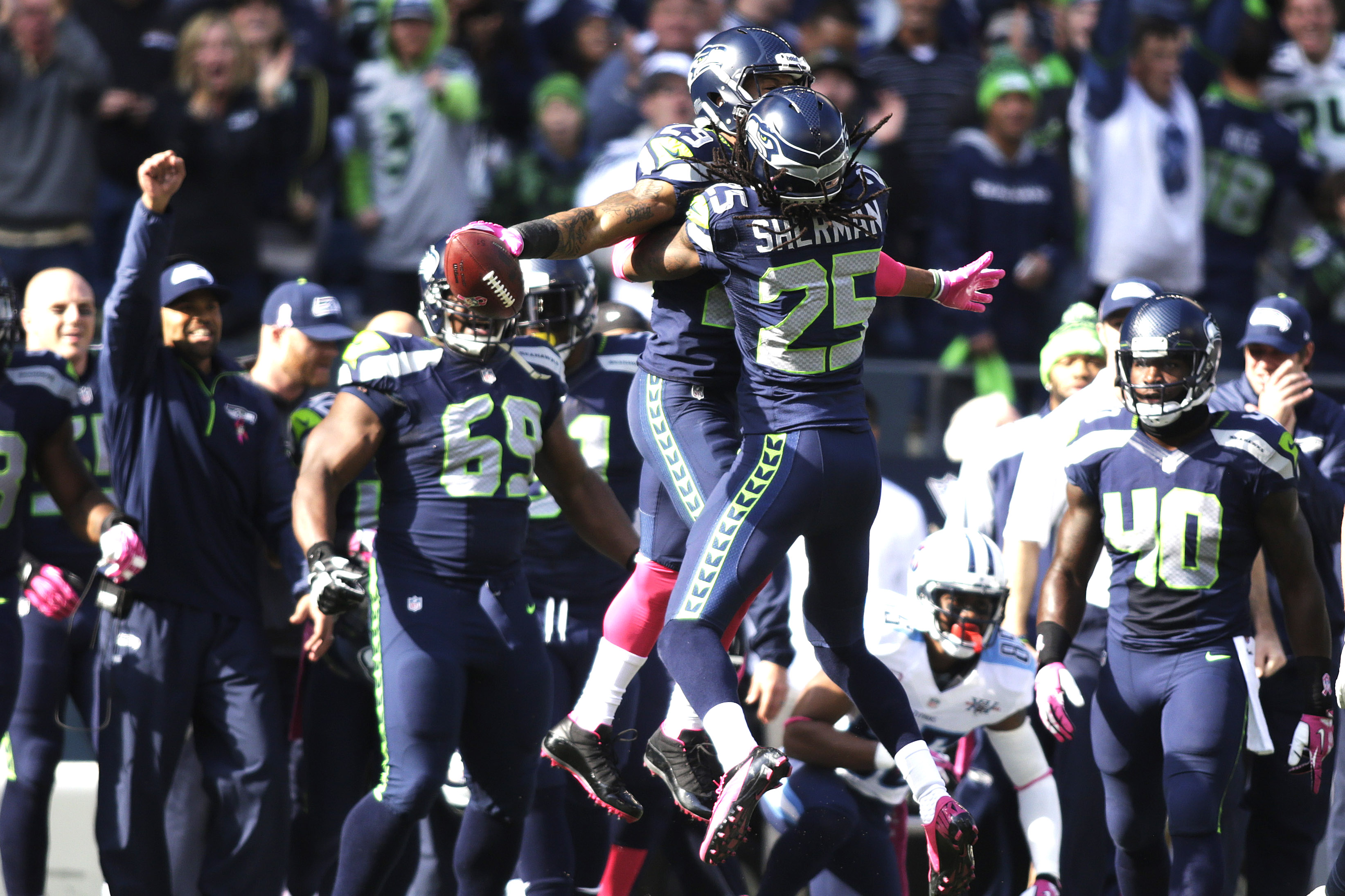 Richard Sherman and Earl Thomas are two members of the Seahawks 3287x2191