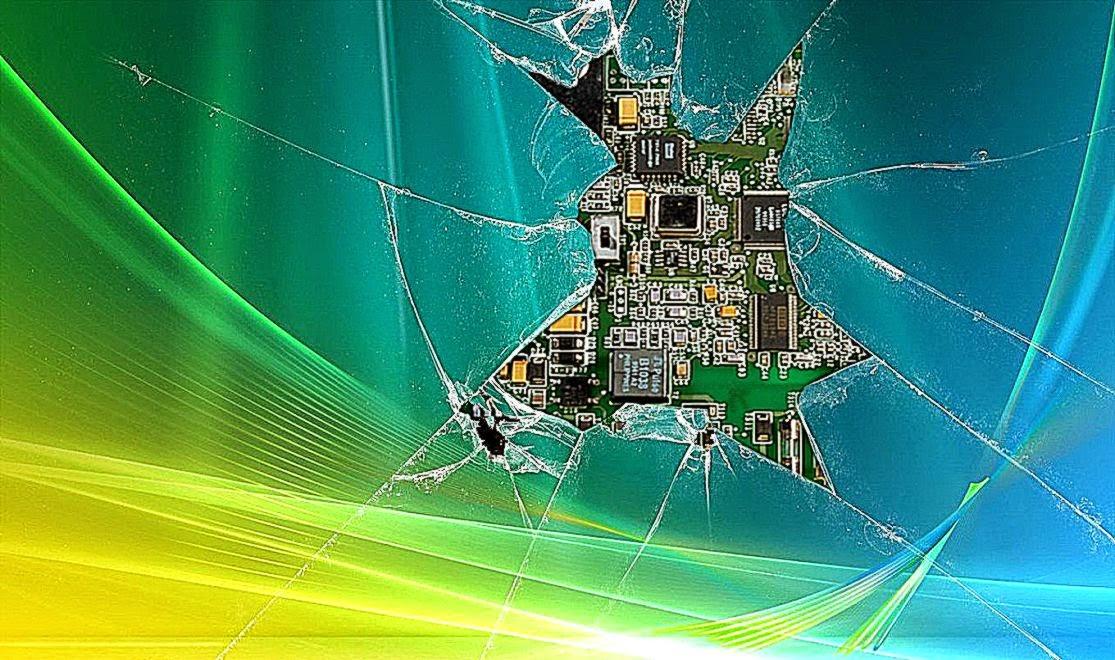 broken computer screen wallpaper wallpapersafari