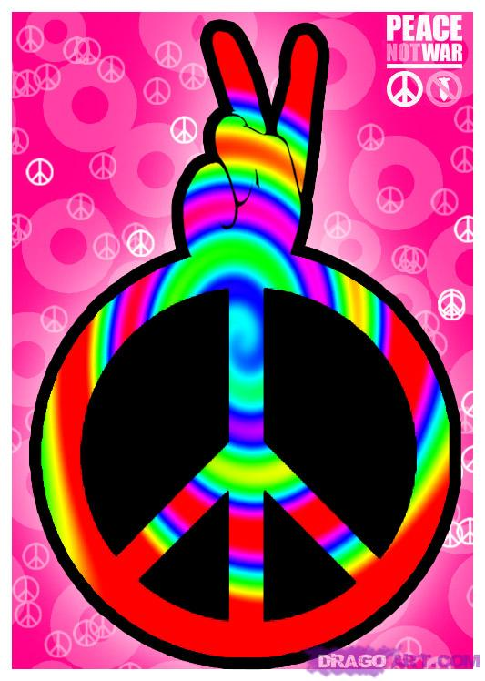 cool peace sign backgrounds wallpapersafari