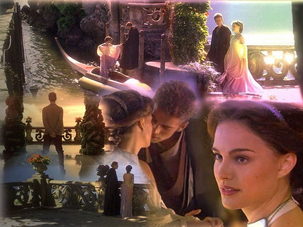 Anakin and Padme Wallpaper   Anakin and Padme Wallpaper 6345928 1024x768