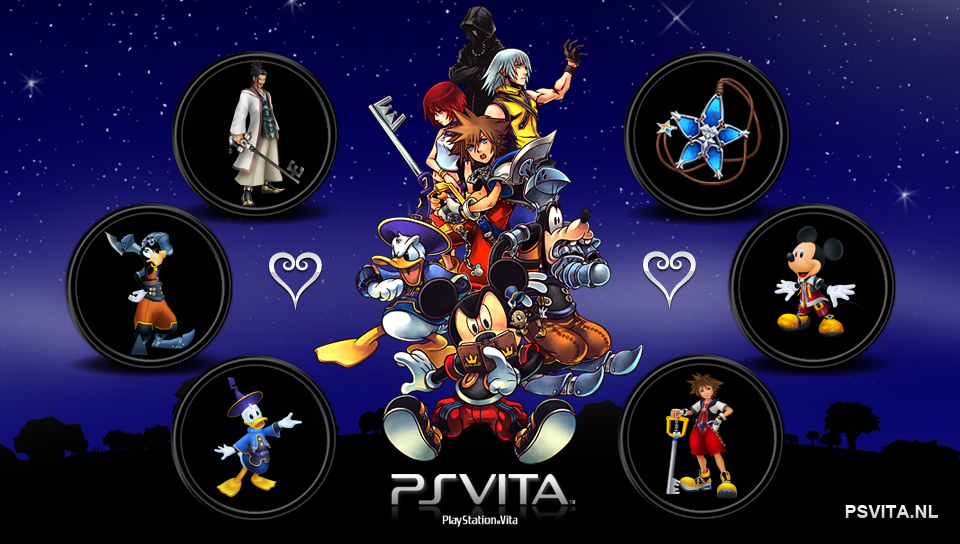 Kingdom Hearts PS Vita Wallpapers   PS Vita Themes and Wallpapers 960x544