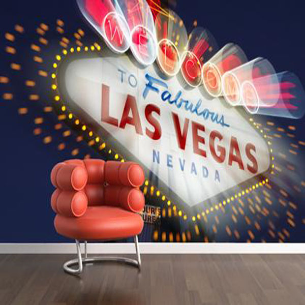 Las Vegas Wallpaper Mural   Select Wallpaper Designer Wallpapers 600x600