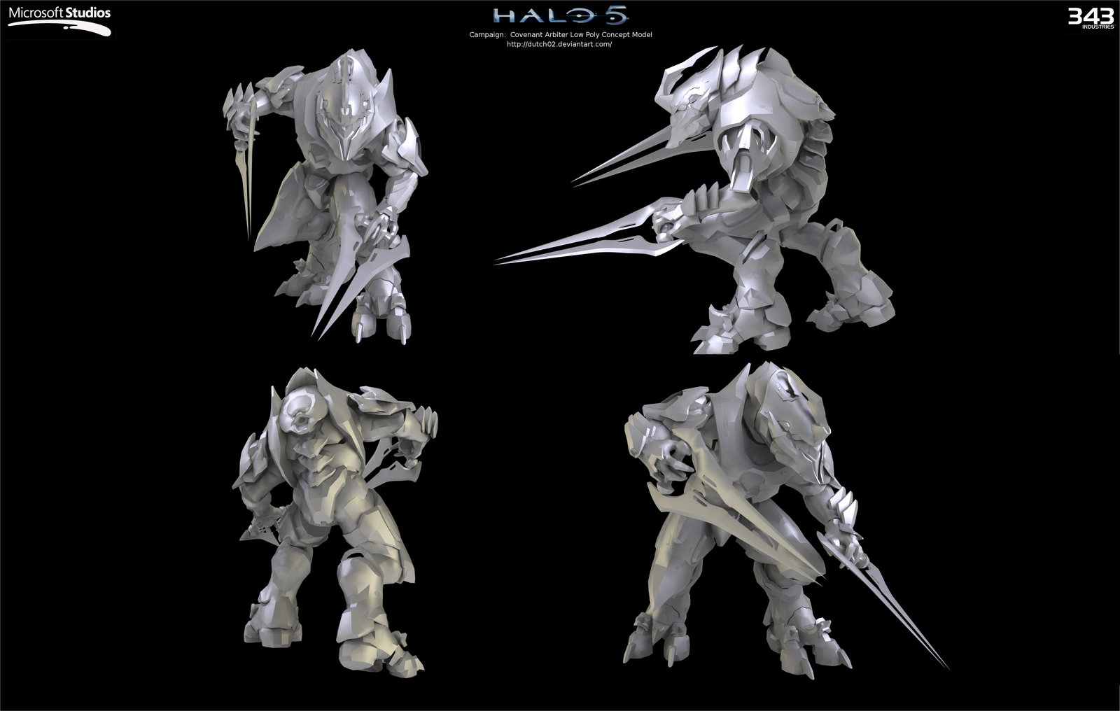Halo 5 Arbiter Concept by Dutch02 1600x1016