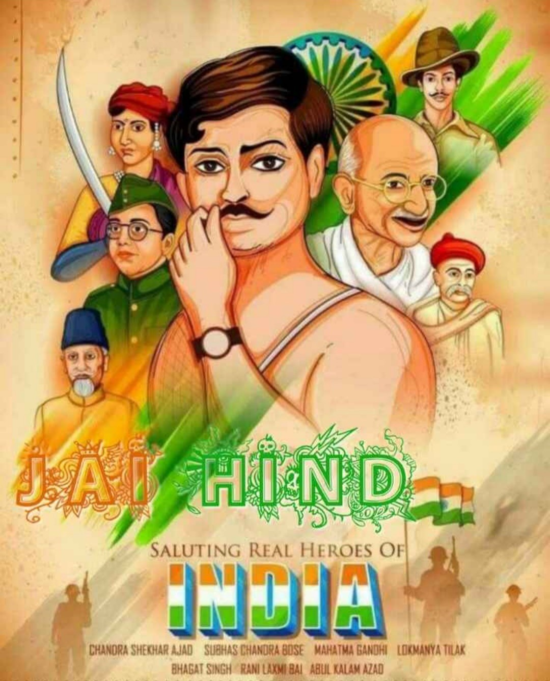 Indian Freedom Fighters Images Download 2019 1080x1336