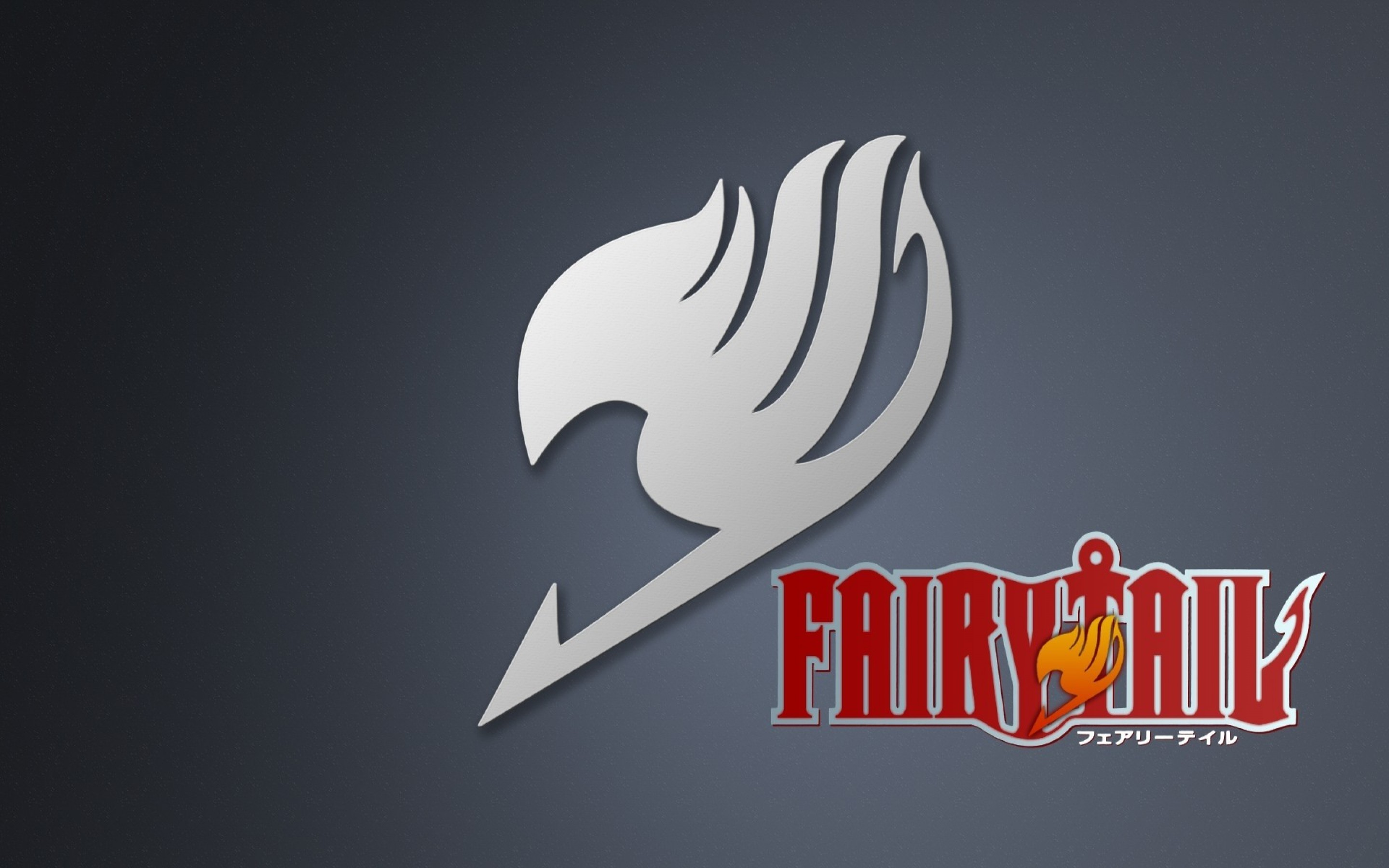 Fairy Tail Logo HD Wallpaper in High Resolution at Anime Wallpaper 2880x1800