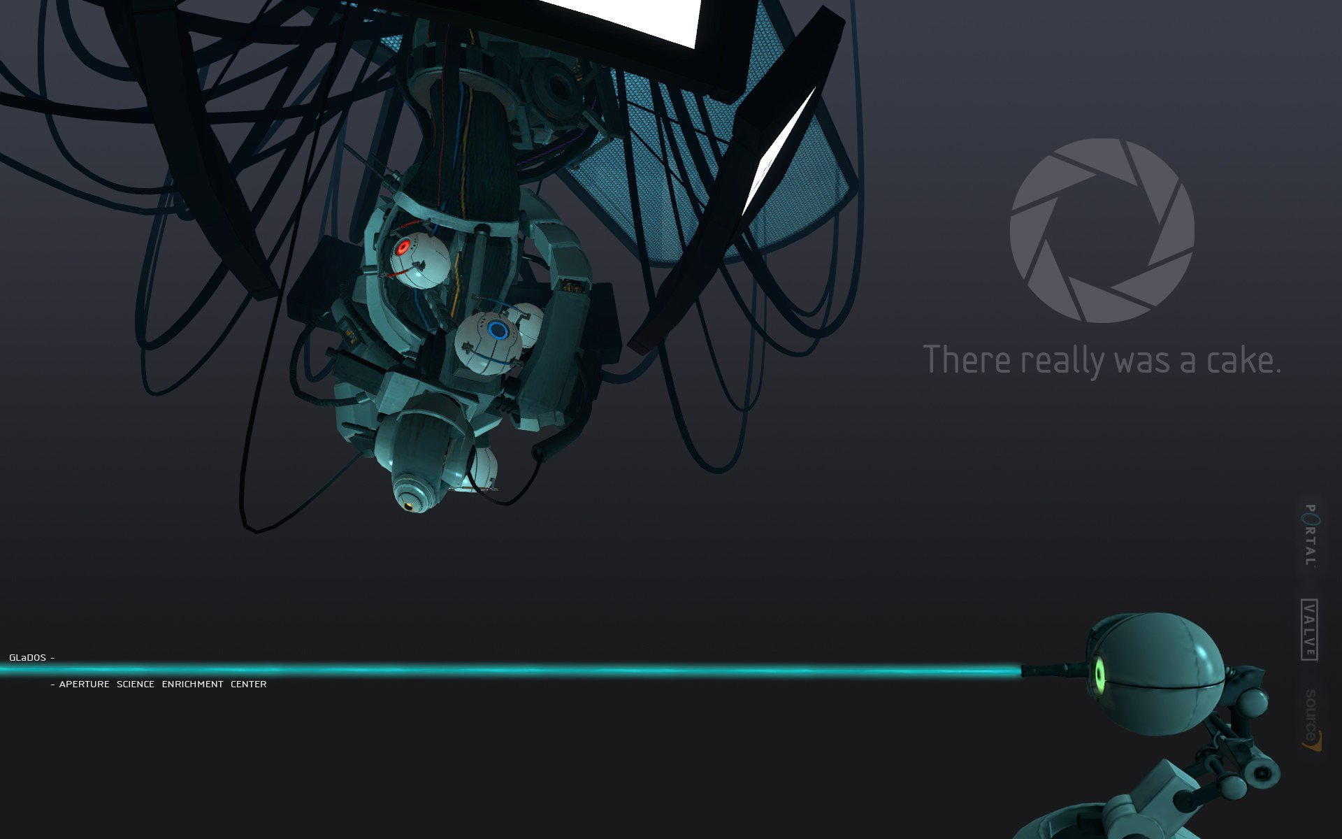 Free Download Portal 2 Wallpaper Glados Portal Glados