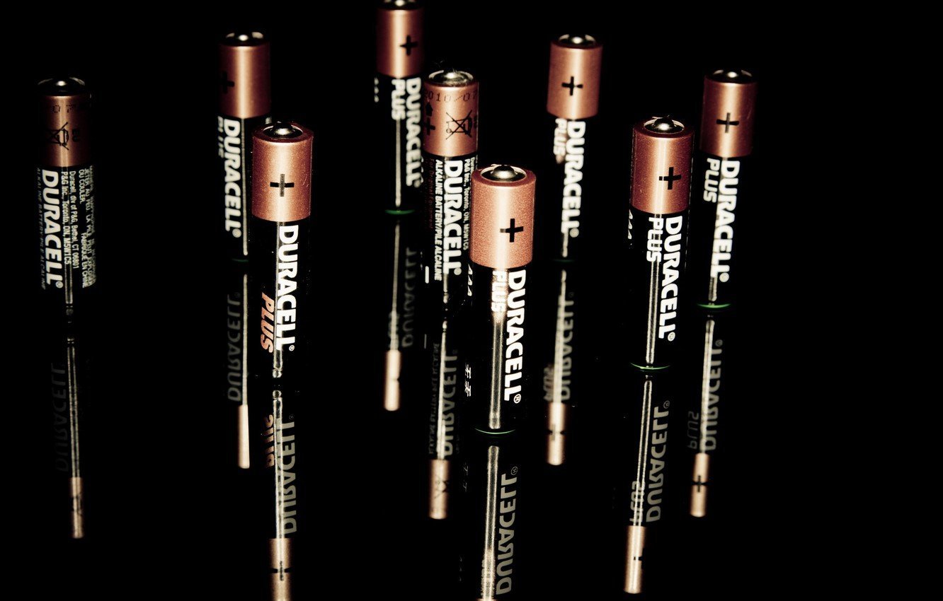 Wallpaper macro background Duracell The battery is charged 1332x850