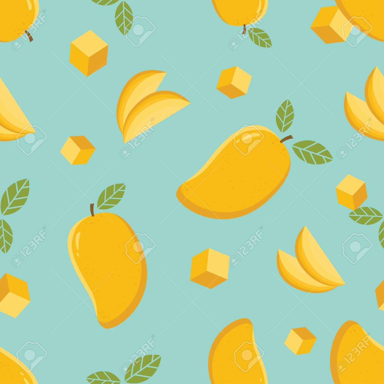 Mango Seamless Pattern Mango Seamless Pattern BackgroundMango 1300x1300
