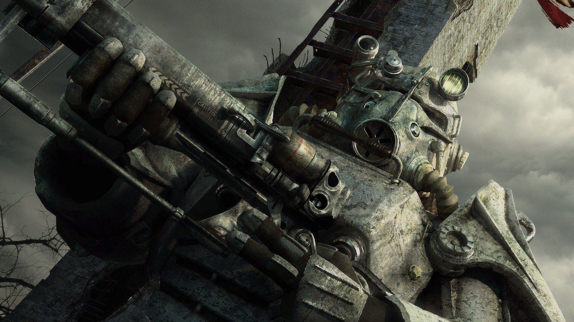 CGI Brotherhood Of Steel Fallout 3 washington monument wallpaper 1920x1080