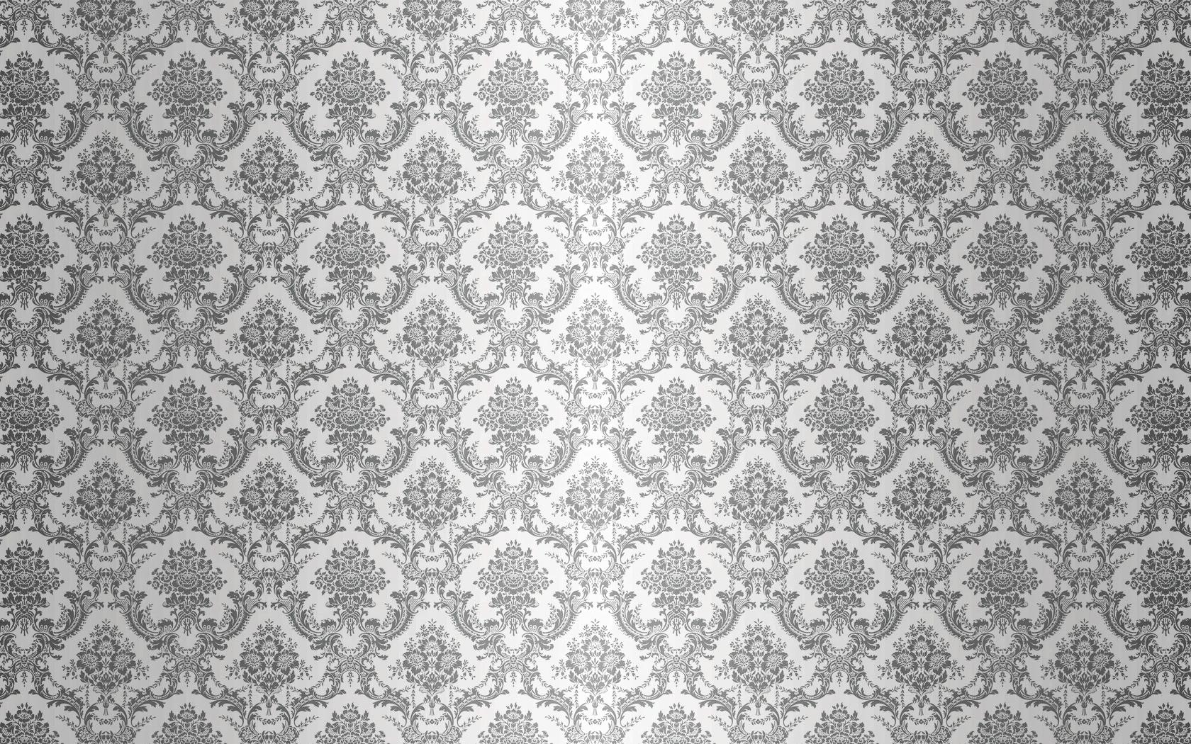 simple damask border wallpaper - HD1680×1050