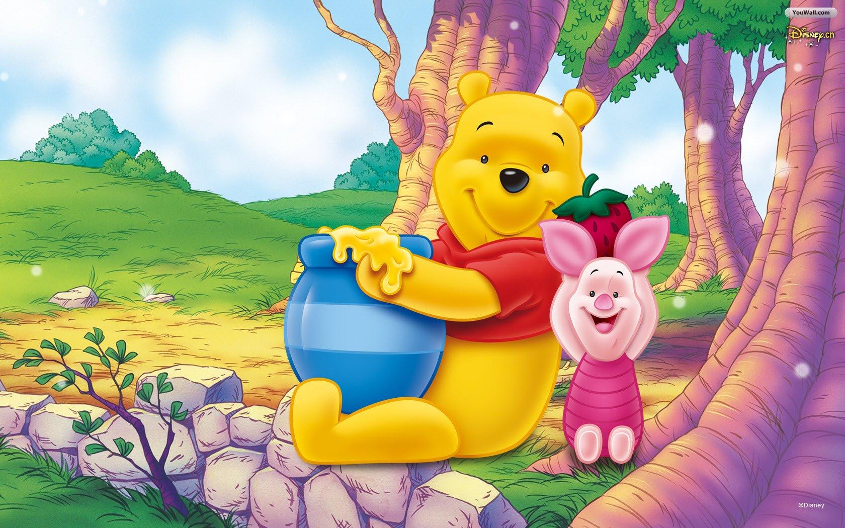 Gambar Kartun Lucu Keren: Gambar Kartun Winnie The Pooh Lucu