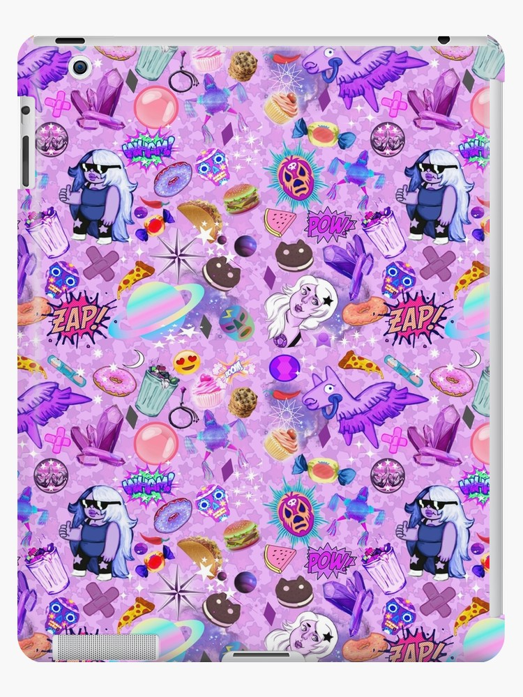Amethyst Aesthetic Wallpaper iPad Case Skin by museofmars 750x1000