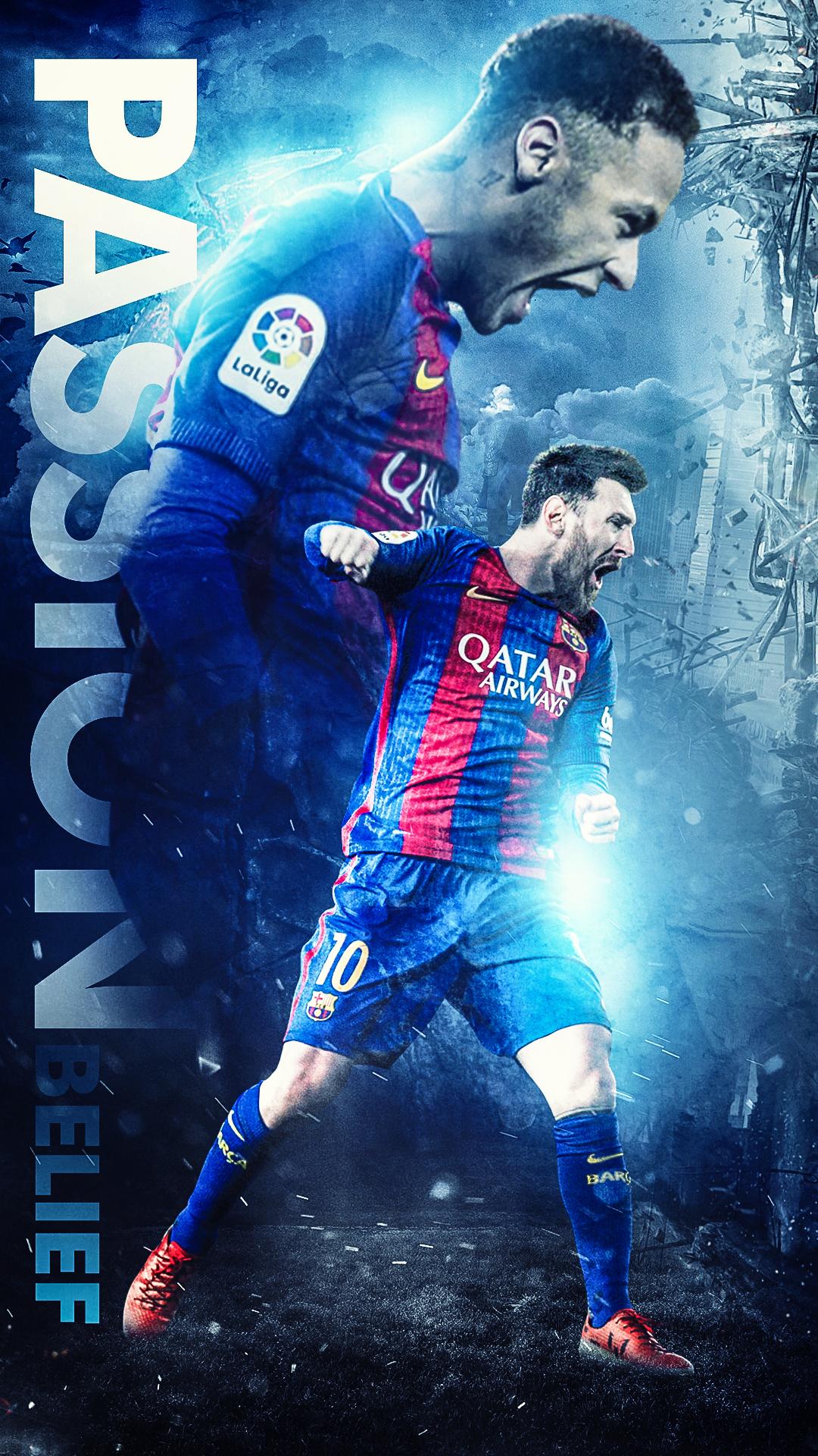 Barcelona vs PSG   Belief by Kerimov23 1080x1920