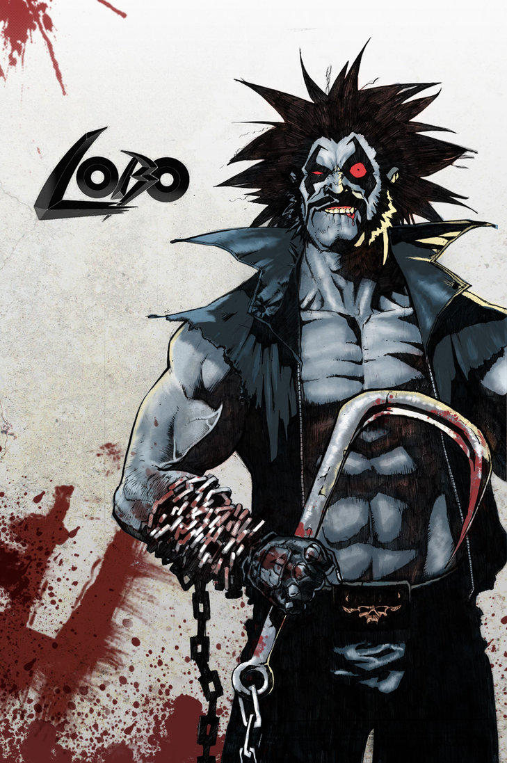 Lobo after Simon Bisley by ezy e 729x1097