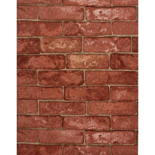 York Wallcoverings RN1032 Wallpaper Modern Rustic Home Decor Brick 500x500
