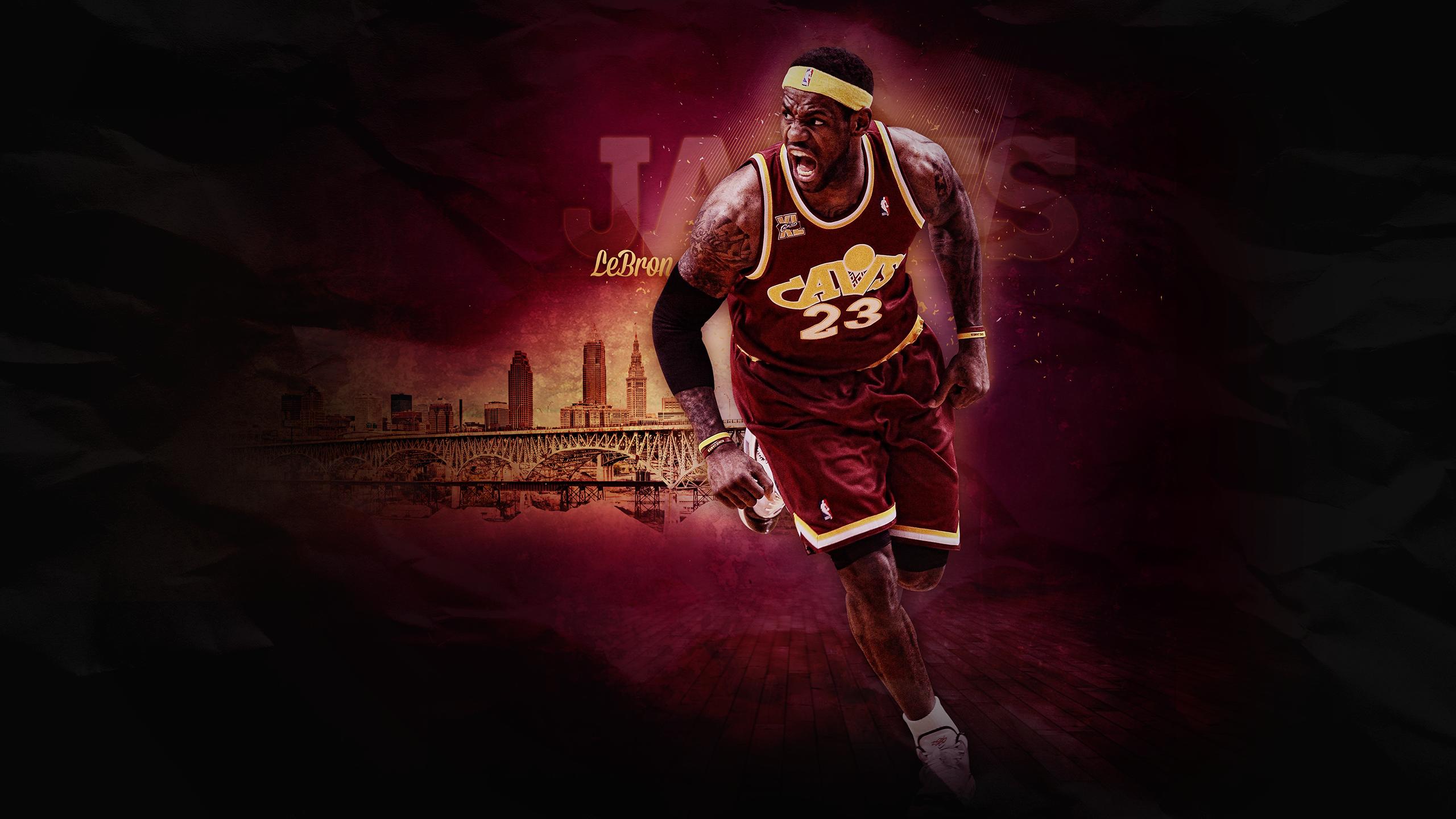 LeBron James by nbacom 2560x1440