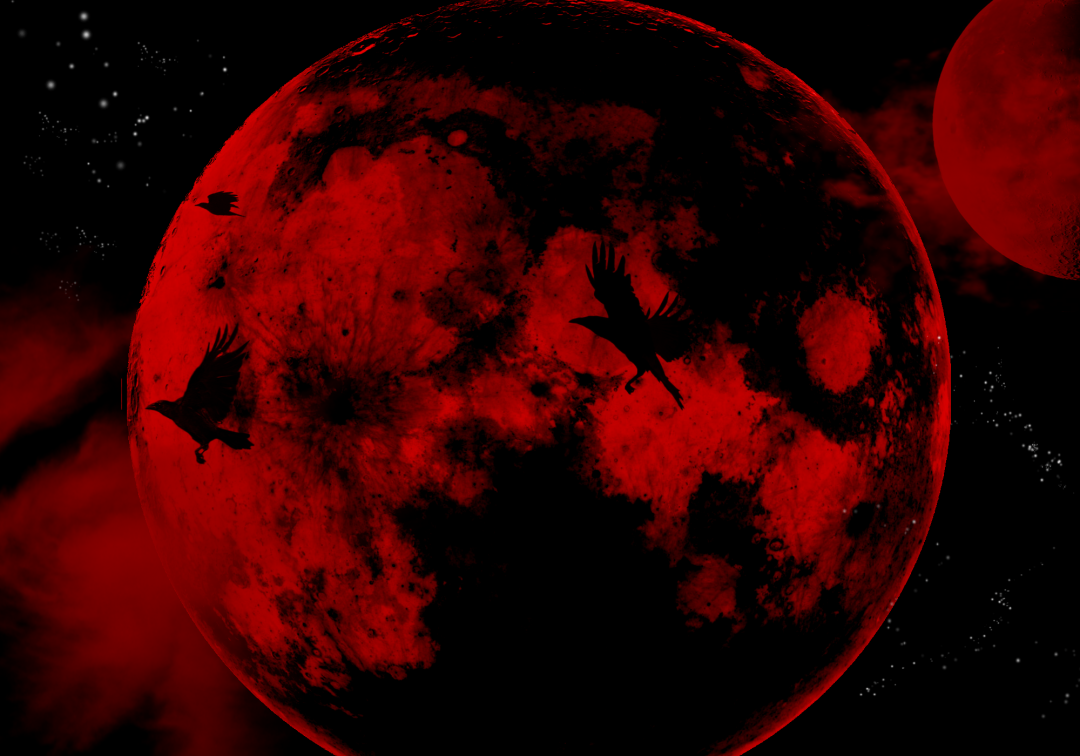 [30] Blood Moon   Android iPhone Desktop HD Backgrounds 1080x756