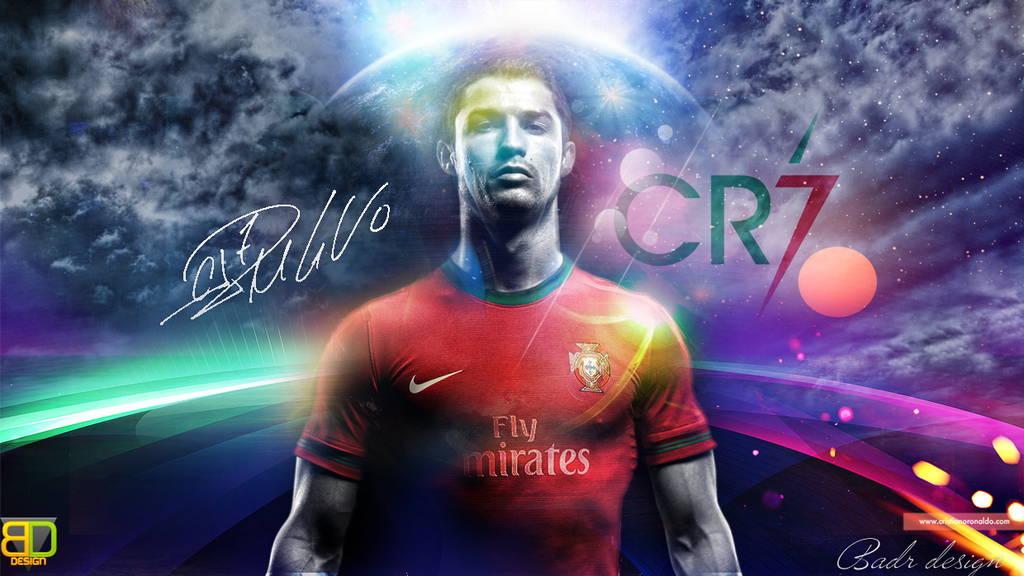CR7 Wallpaper by Badr DS 1024x576