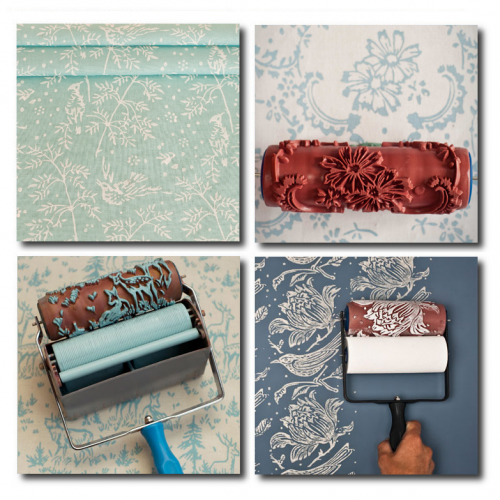 instructions on how to use the patterned paint rollers see youtube 500x500