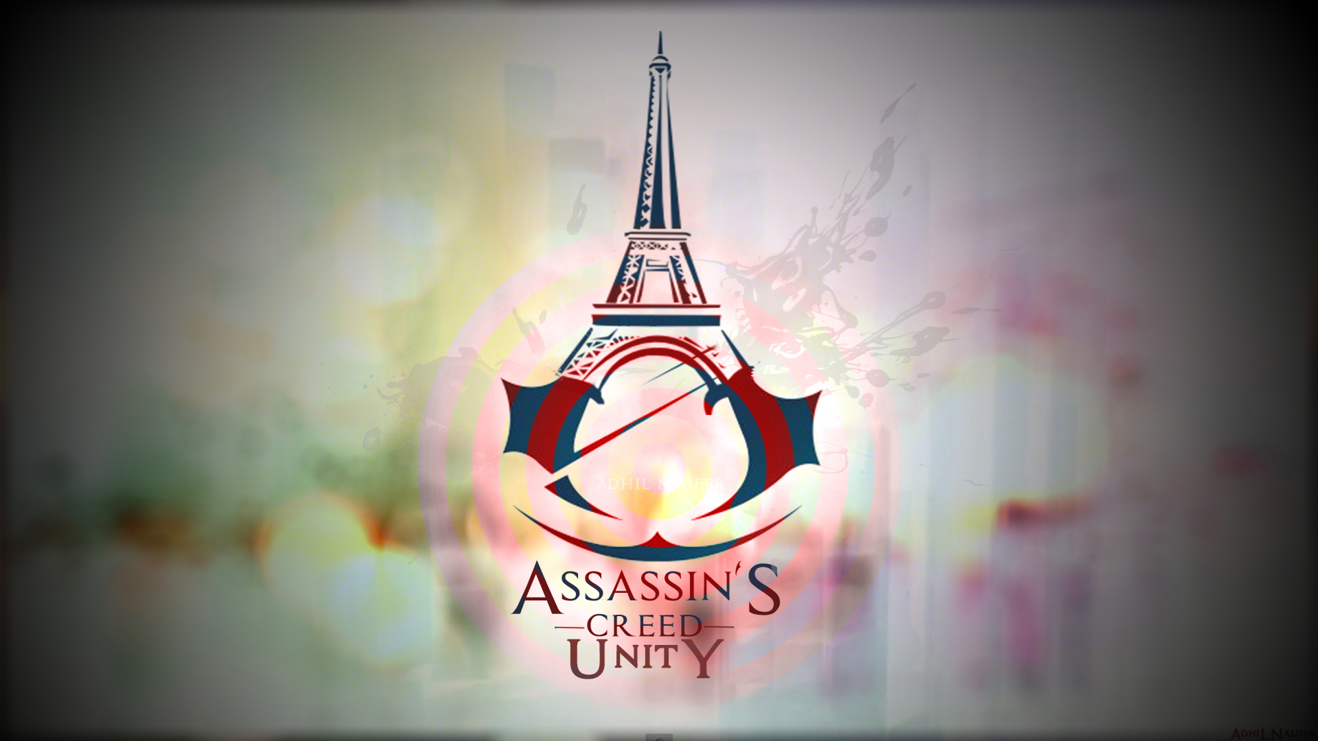 logo of assassins creed unity game hd 1920x1080 1080p wallpaper and 1920x1080