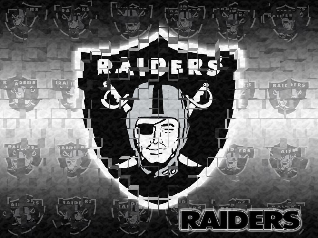 Oakland Raiders by nicknash 1024x768