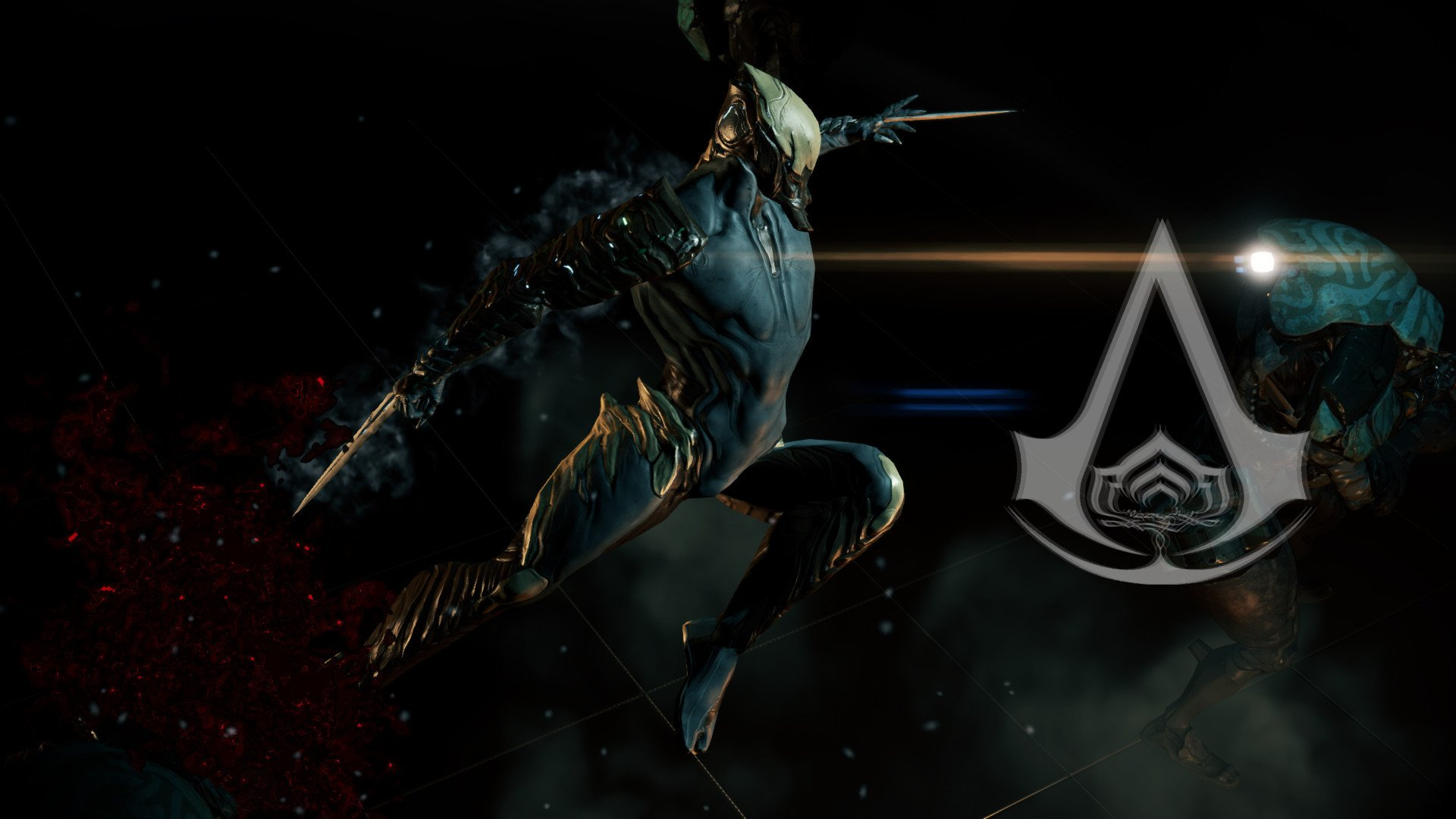 Warframe Excalibur Prime Wallpaper Warframe codex diorama 1920x1080