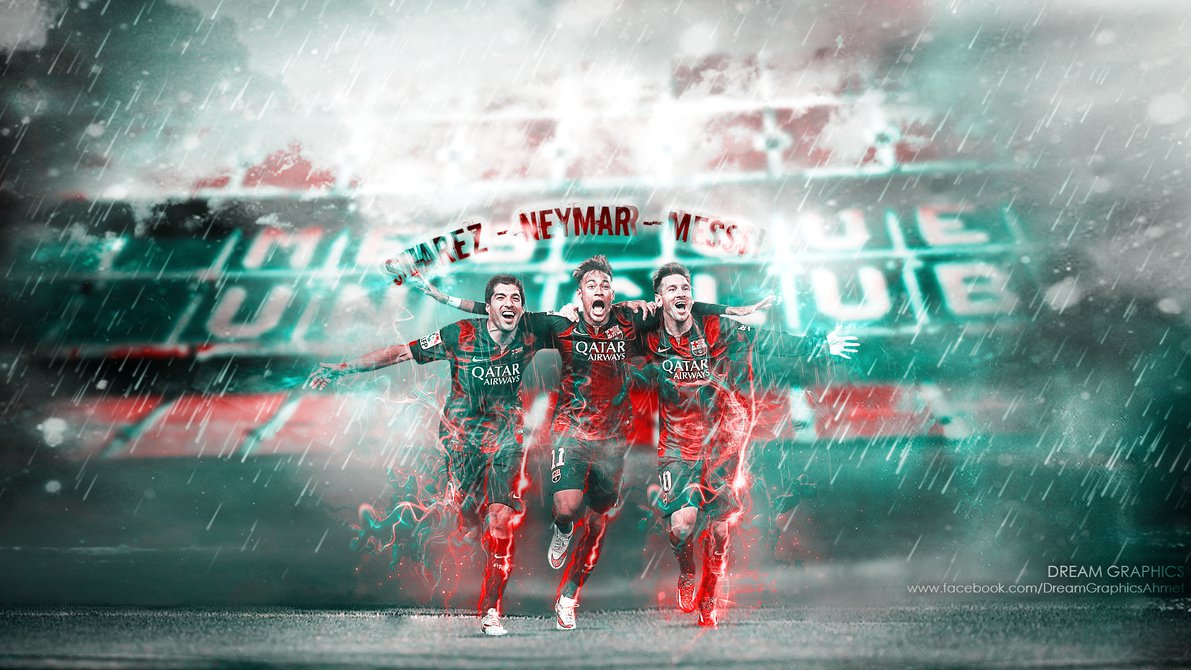 Suarez Neymar Messi by dreamgraphicss 1191x670