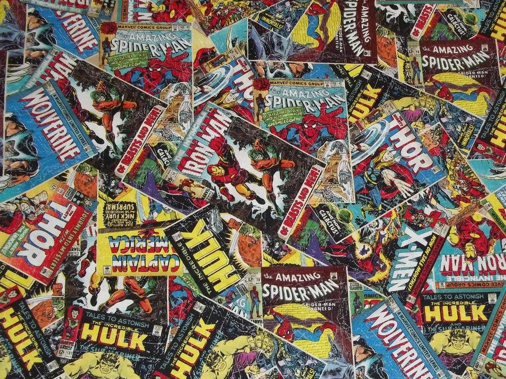 marvel comic strip wallpaper wallpapersafari
