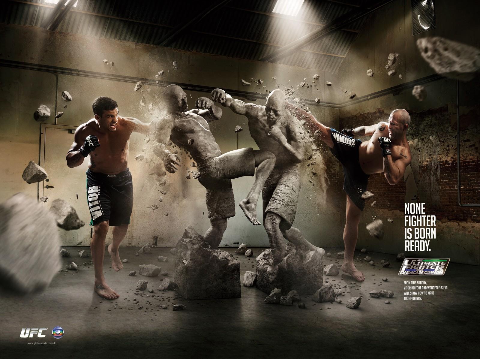 Fight Men Wallpaper 1600x1196 Fight Men Brazil UFC Statues 1600x1196