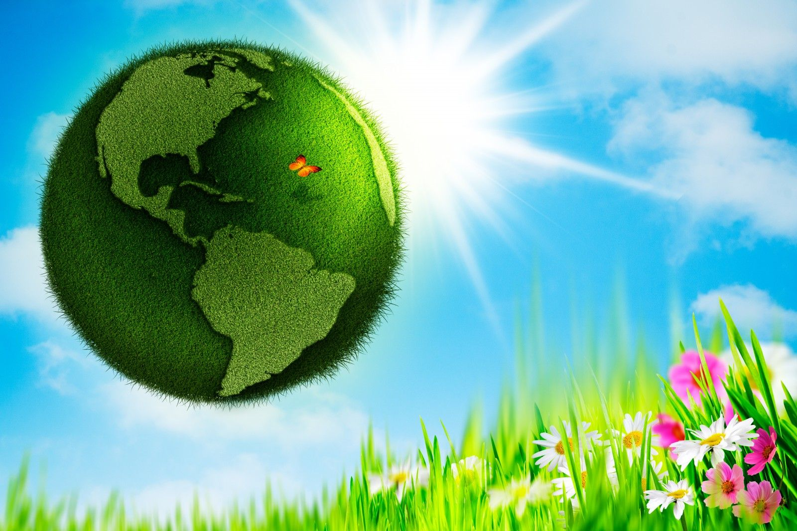 Happy Earth Day Happy Earth Day 2014 3D Images HD Wallpapers 1600x1066
