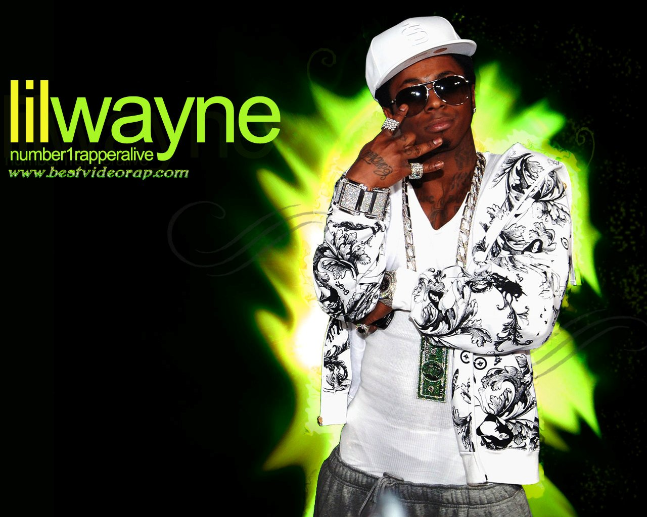 Lil Wayne Wallpapers Download Video Hip Hop 2010 1280x1024