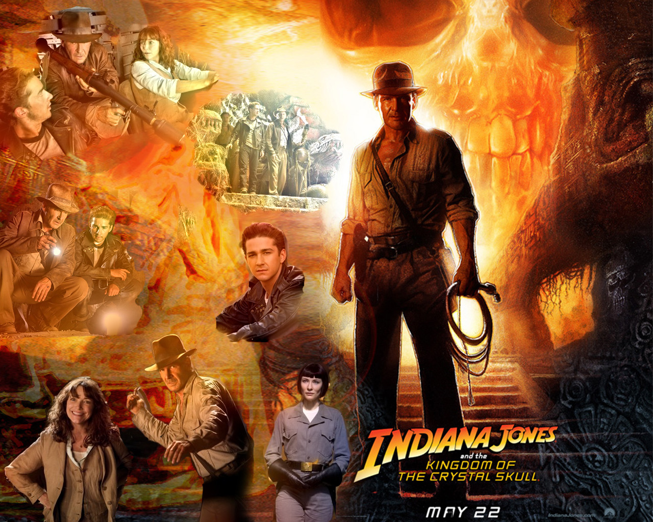 Indiana Jones Wallpapers Wallpaperholic 1280x1024