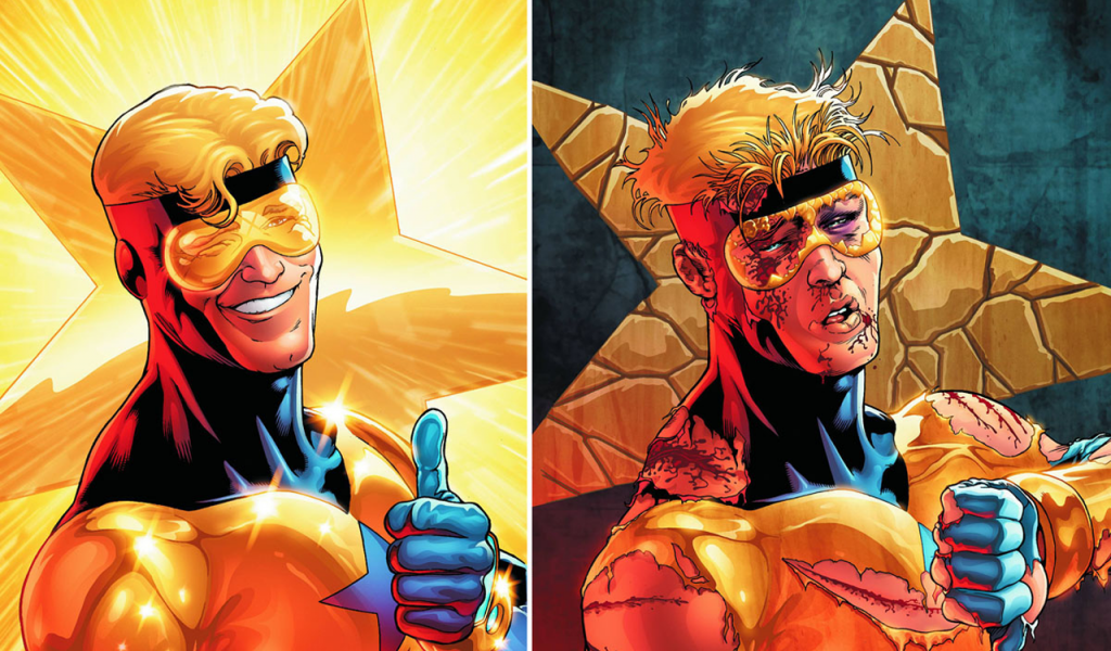 Booster Gold Wallpaper 5   1280 X 924 stmednet 1024x600