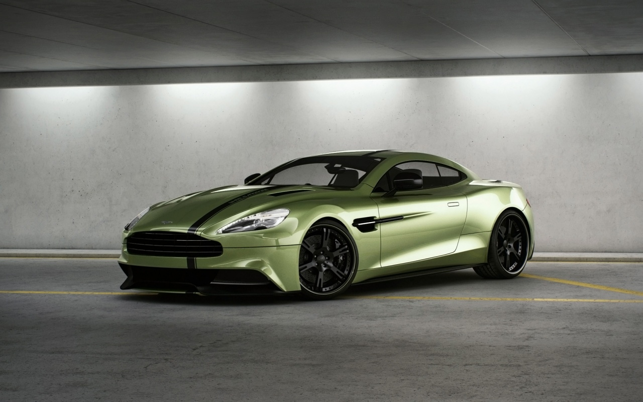 Aston Martin Vanquish By Wheelsandmore Wallpaper HD Car Wallpapers 1280x800