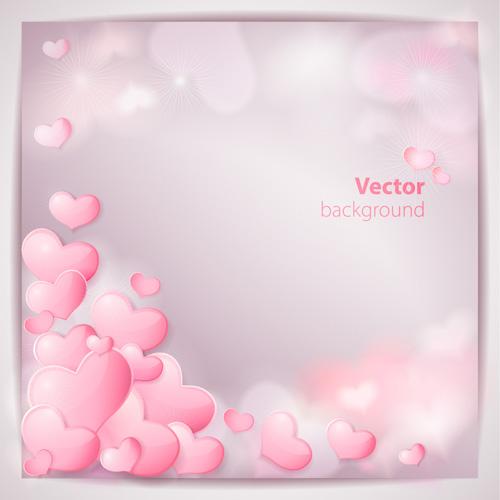 Wedding Backgrounds vector material 03   Vector Background 500x500