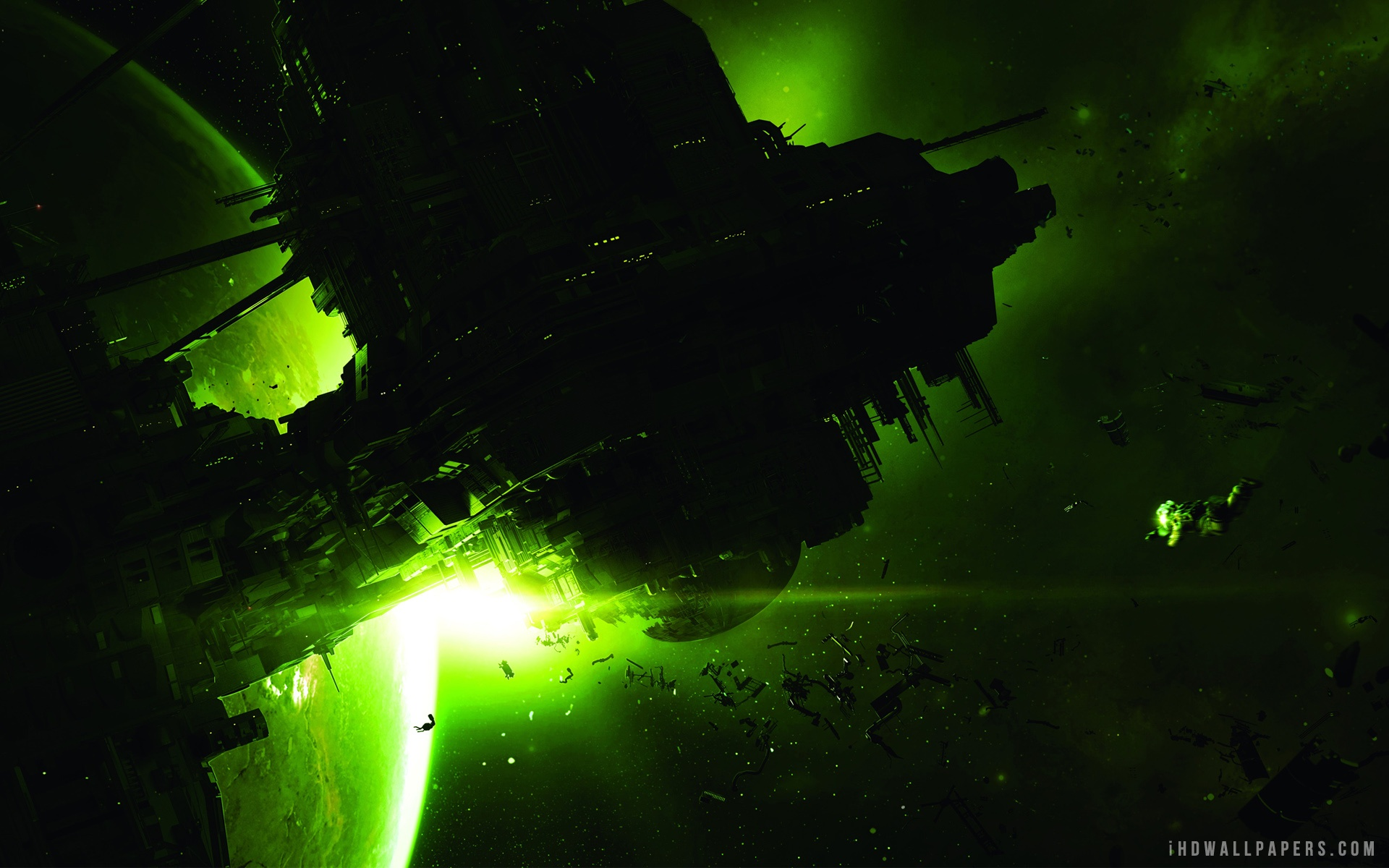 Alien Isolation Video Game wallpaper 2560x1440 1920x1200