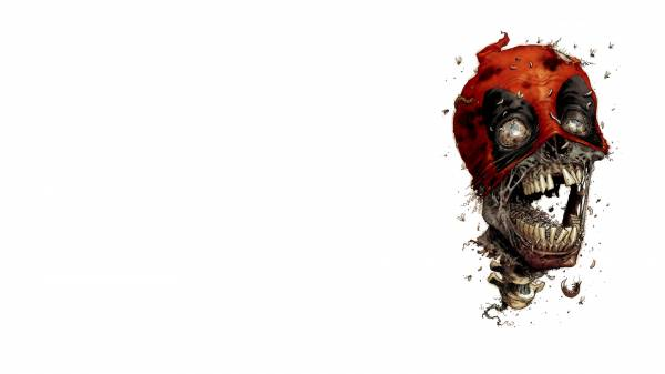 3D skull scary red white desktop wallpapers 1920x1080 HQ photo 600x337