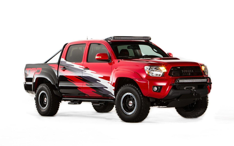 2015 Toyota TRD Tacoma suv cars tuning sema 2014 wallpaper 1440x900 1440x900