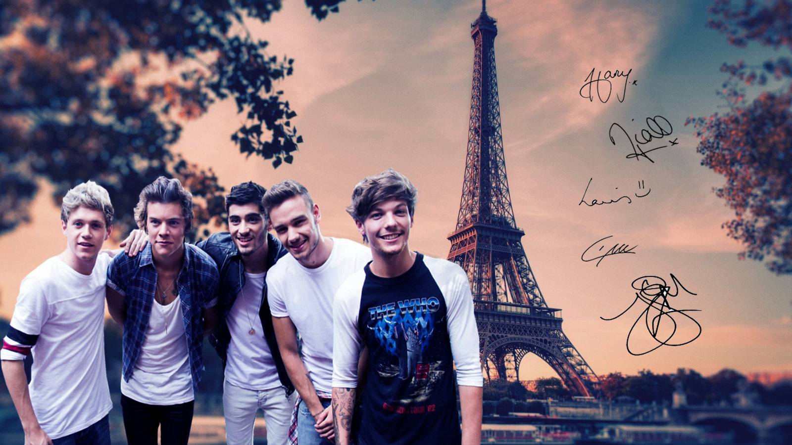 One Direction wallpaper by Madi Milkshakes 1600x900