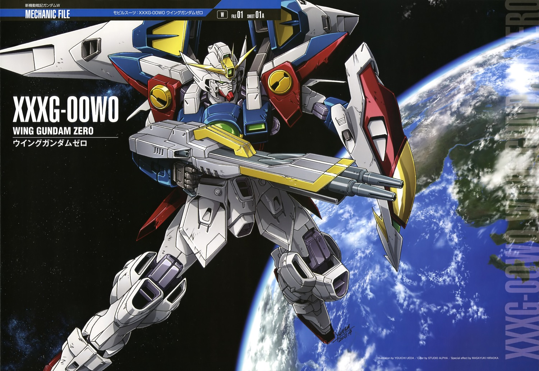 Mobile Suit Gundam Wing Wallpapers Plamo Hub 1500x1033