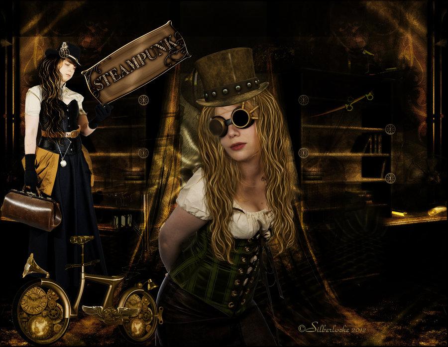 Steampunk Room by SilverCurlyART 900x696