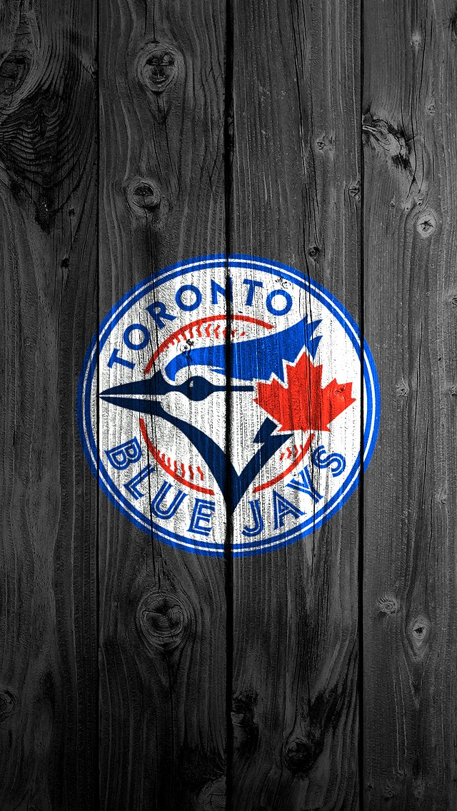 Blue Jays iPhone 5 640x1136