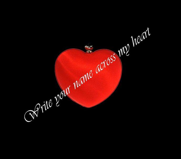 Write your name across my heart wallpaper   ForWallpapercom 689x606