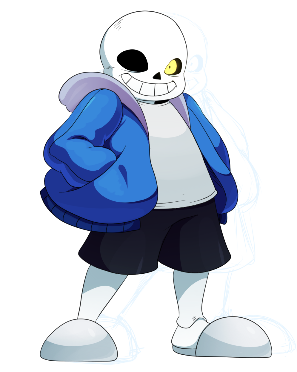 Undertale Sans By Ss2sonic Watch Fan Art Digital Drawings Games 995x1245