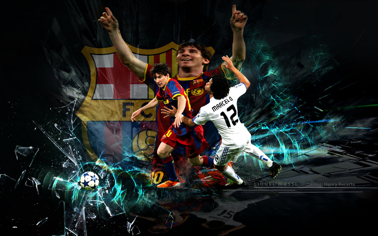 Cool Soccer Wallpapers Messi - WallpaperSafari