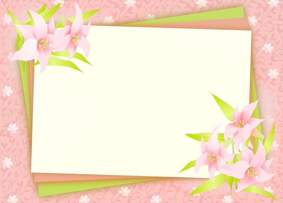 Floral Background Flowers Vines   image on Pixabay 960x688