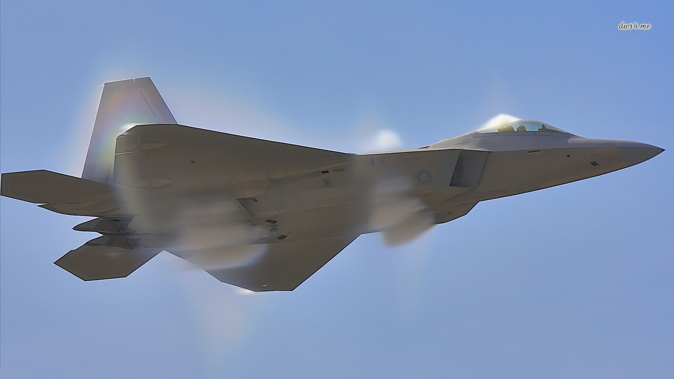 lockheed martin f 22 raptor Computer Wallpapers Desktop Backgrounds 1366x768