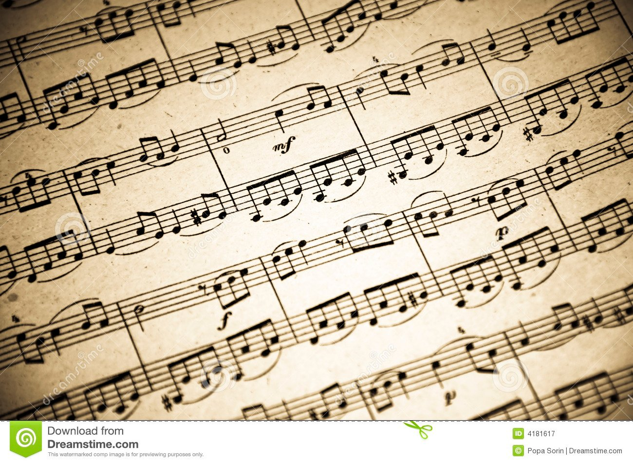 Music Notes Background: Music Notes Wallpaper