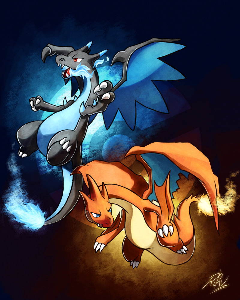 Pokemon Wallpaper Mega Charizard 800x1000