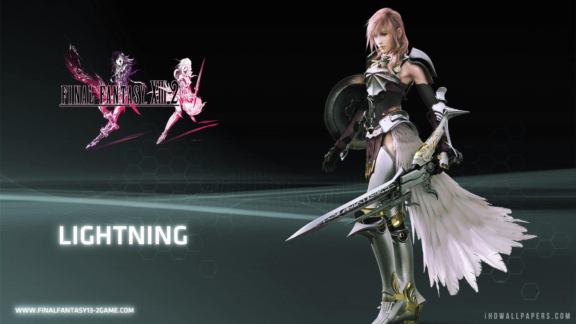 Lightning in Final Fantasy HD Wallpaper   iHD Wallpapers 1920x1080